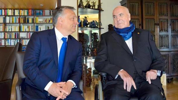 To nesmíme připustit, shodl se Kohl s Orbánem.
