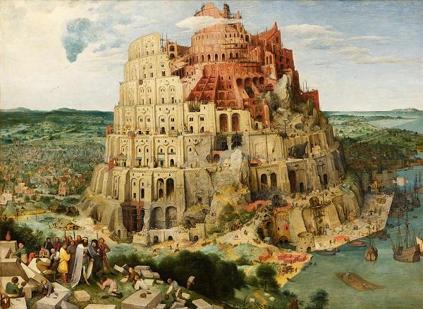 Peter Bruegel starší namaloval Babylónskou věž přímo na soutoku Ostravice a Morávky!