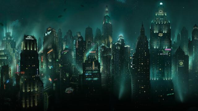 Podmořské město, jak ho vybudoval pan Tran s hlavonožci.