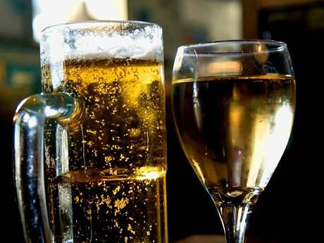 Pivo se měnilo ve víno před očima. Nebyl to klam.