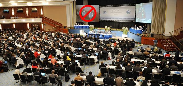 Konference v Nairobi, kde poprvé zazněl požadavek na zákaz pisoárů.