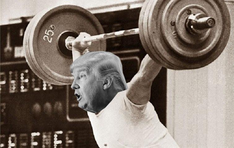 Díky sportu si Donald Trump udržuje stejný mladistvý vzhled jako před desítkami let!