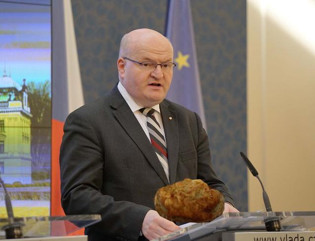 Ministr kultury Daniel Herman dojatě referoval o novém přírůstku v seznamu UNESCO.