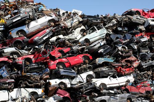 V Hodolanech je většina aut poškozena. Napadlo jich totiž až 40 metrů!