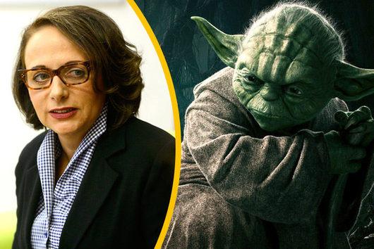 Adriana je velkou fanynkou Star Wars, přesto se trochu ošívá...