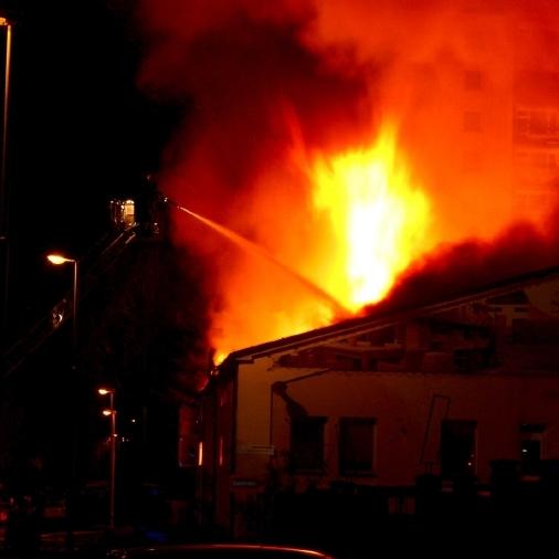 Pan Košťál díky Požárové slepotě plameny vůbec neviděl!