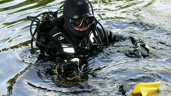 Potápeč František Drkol je od včerejšího večera nezvěstný. Stal se obětí Lochnesky?